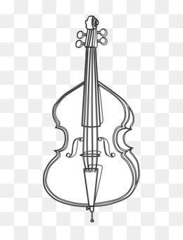 graphic royalty free stock Violin clip art . Cello clipart gambar.