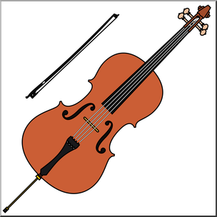 jpg Transparent free for download. Cello clipart gambar.