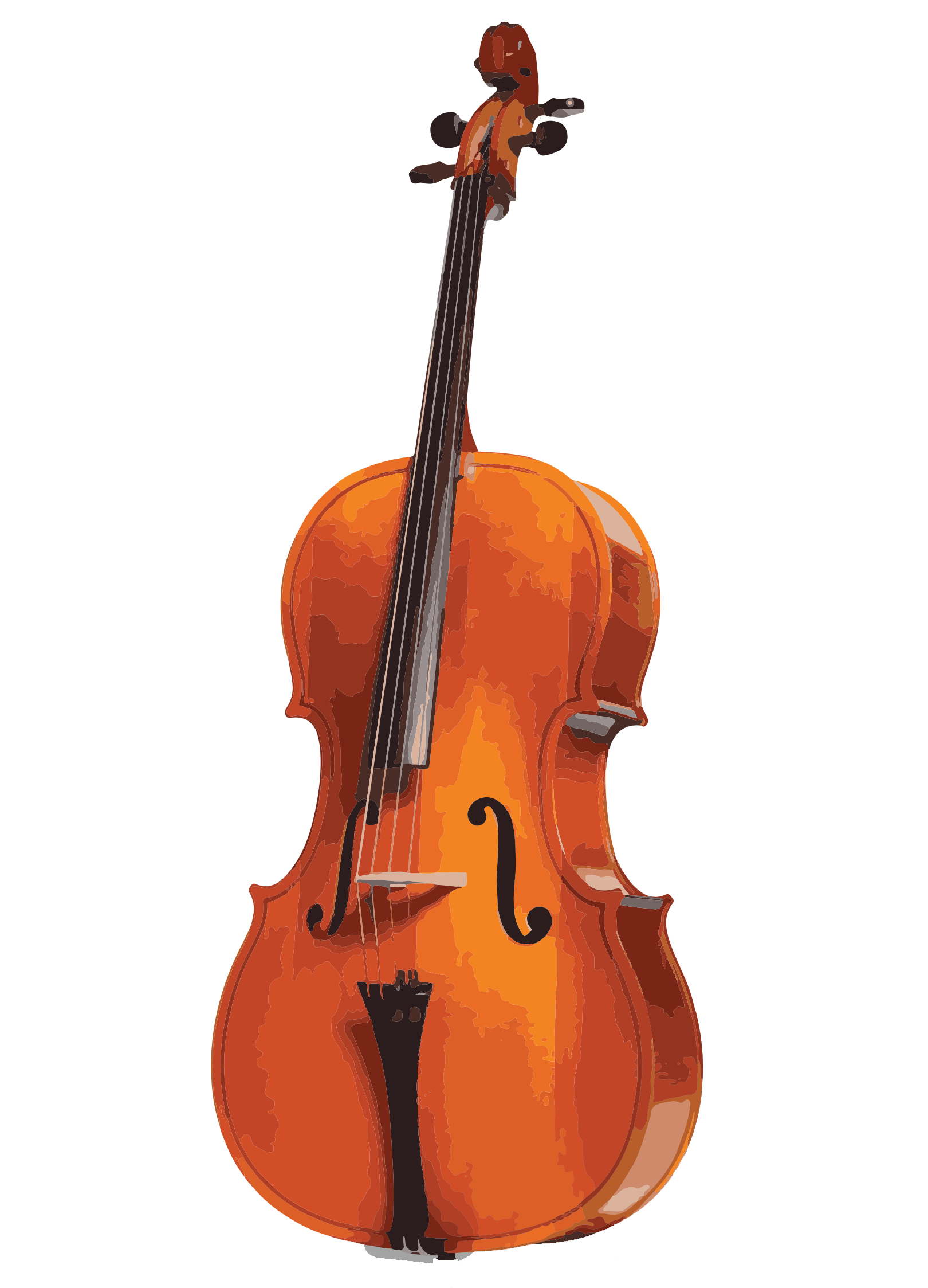 picture free stock Pentacle violin viola and. Cello clipart tool.