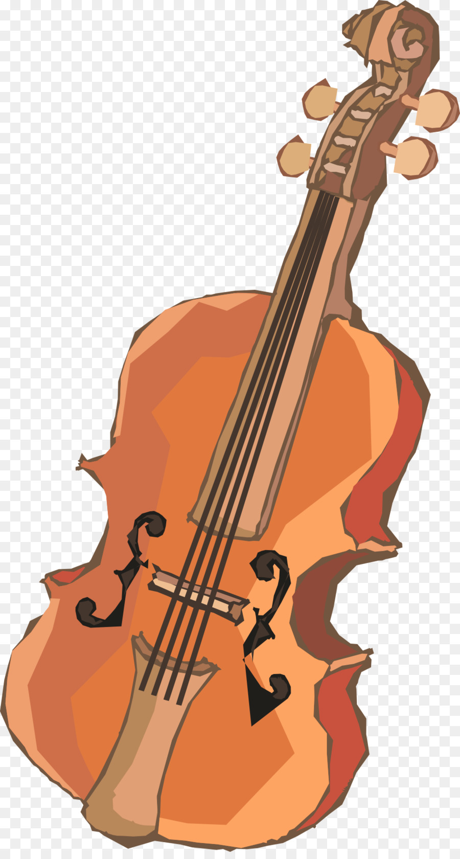 svg royalty free download Cello clipart tool. Violin transparent vintage clip.