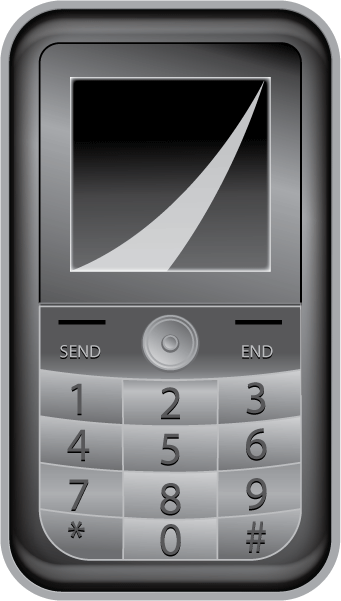 clipart library Cellphone clipart gadget. Free clip art technology.