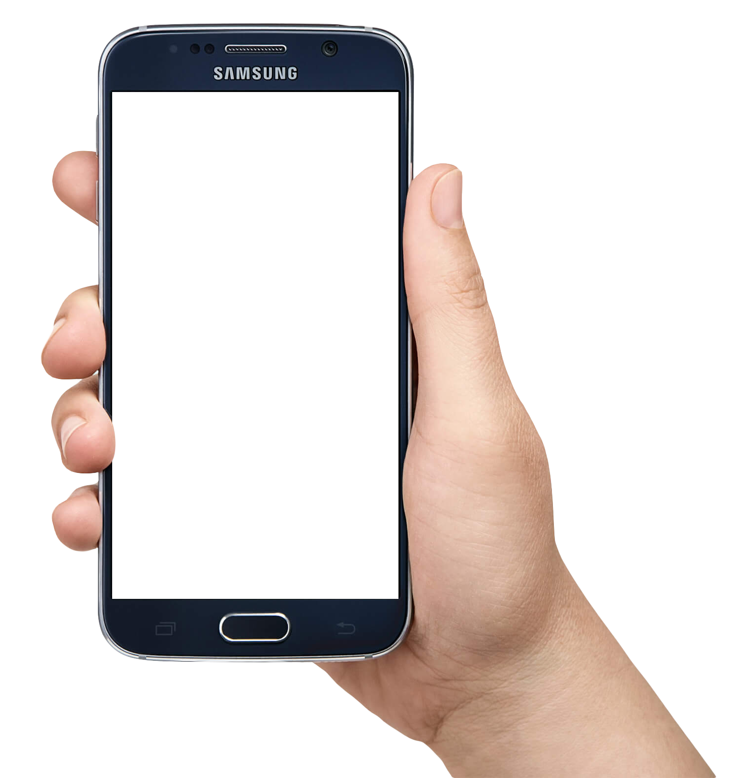 clipart free library Phone In Hand PNG Image