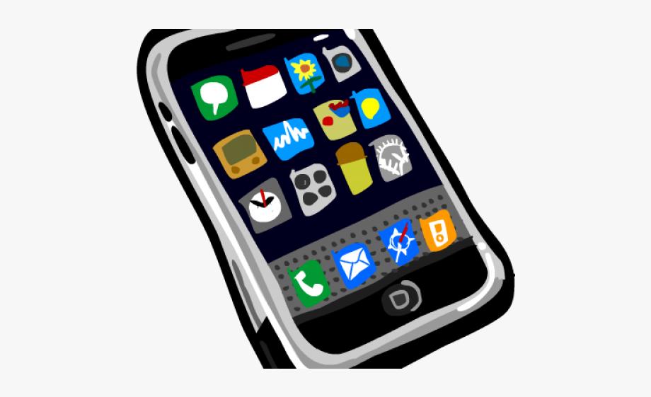 clip art transparent Cellphone clipart mobile device. Cell phone transparent clip.