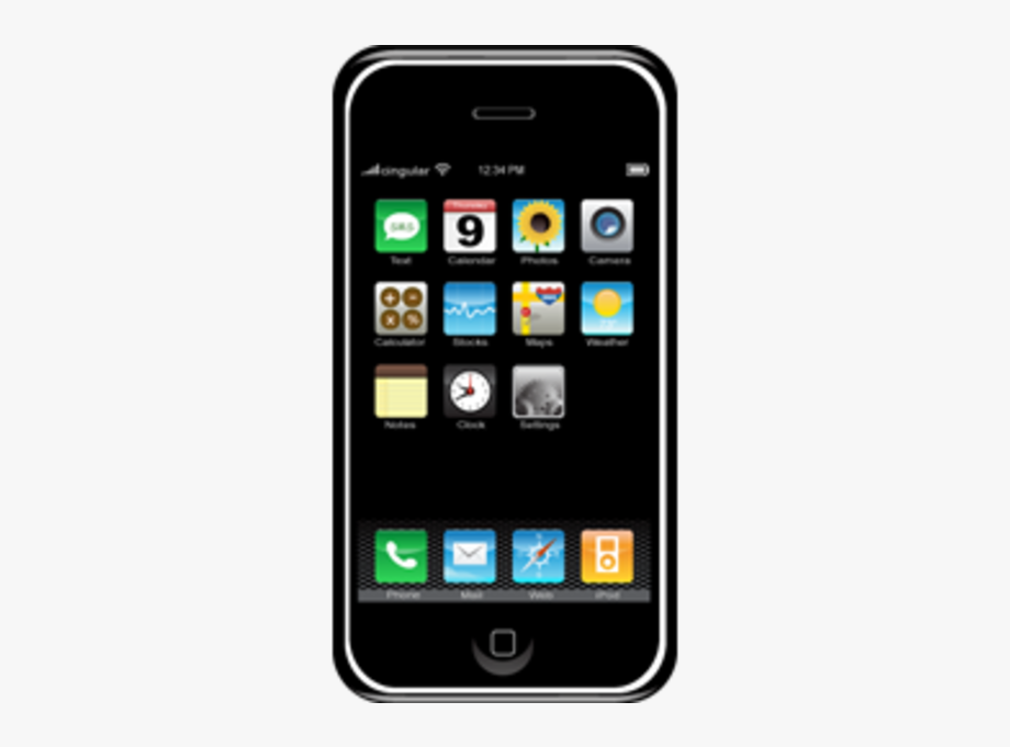 png free Iphone cell phone free. Cellphone clipart mobile device.