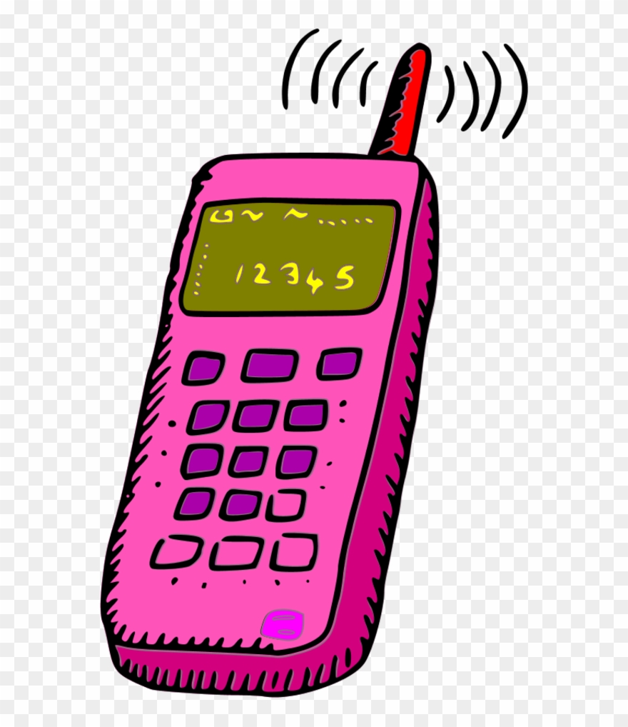 jpg stock Cellphone clipart wireless phone. Cell image clip art.