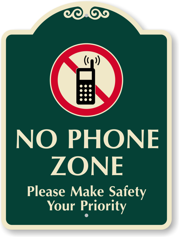 clip freeuse stock Outdoor no cell signs. Cells clipart cellular phone.