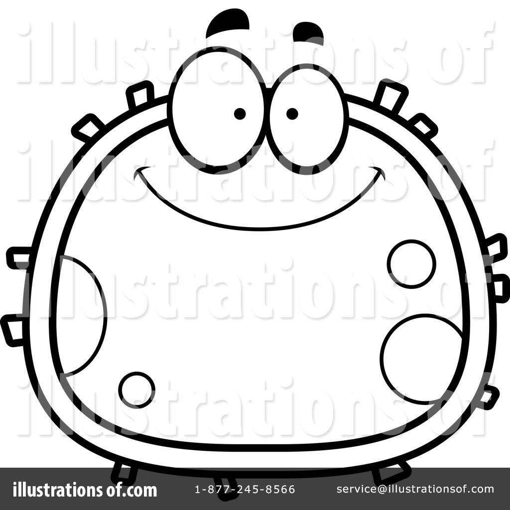 banner freeuse library Cell clip panda free. Cells clipart line art.