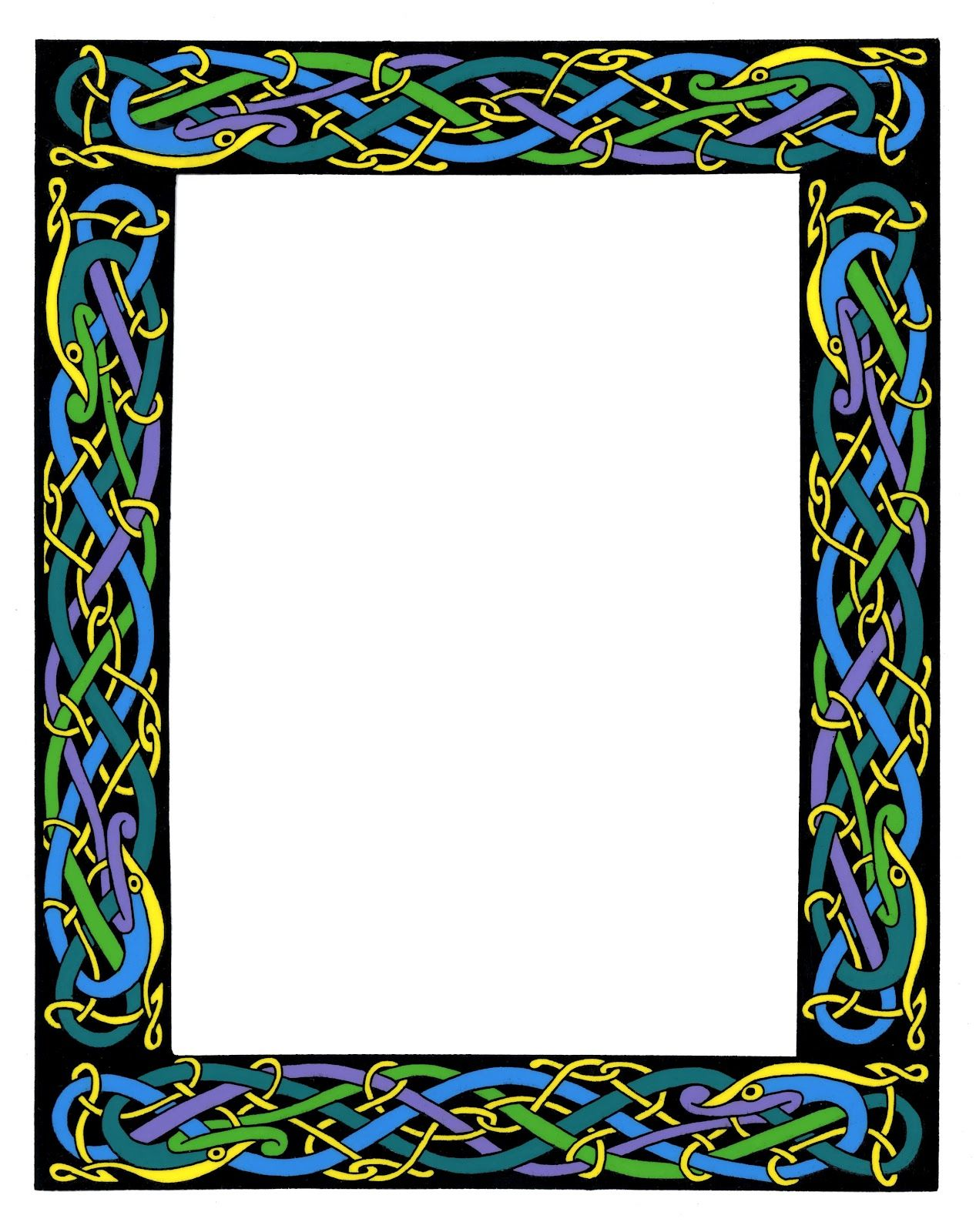svg transparent Free the best library. Celtic borders clipart
