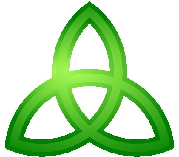 black and white Trinity charmed clip art. Celtic clipart celtic symbol.