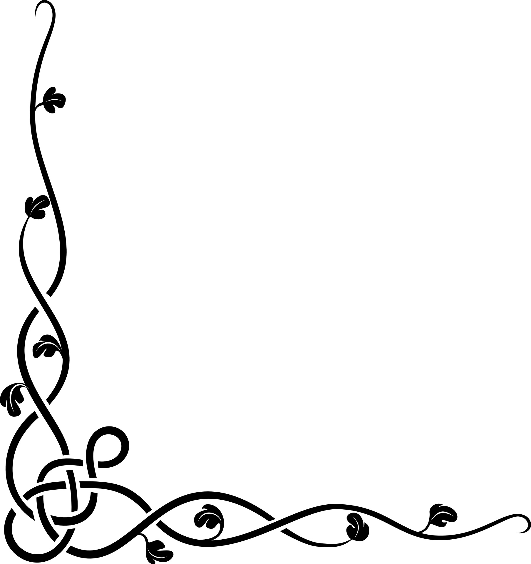 png black and white download Celtic clipart line. Free borders download clip.
