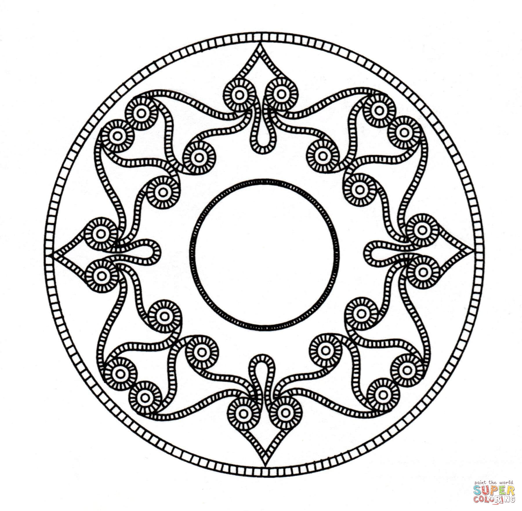 image library stock Free coloring pages download. Celtic clipart mandala.