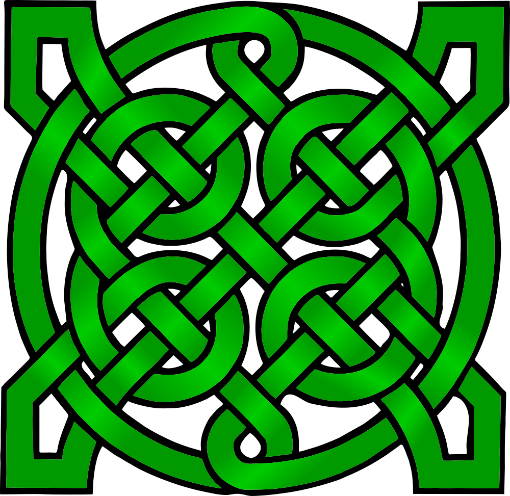 picture royalty free download Celtic clipart mandala. Onlinelabels clip art green.