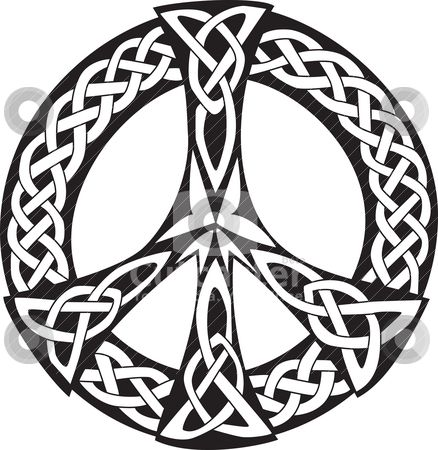 freeuse download Celtic clipart peace. Sign template printable design.