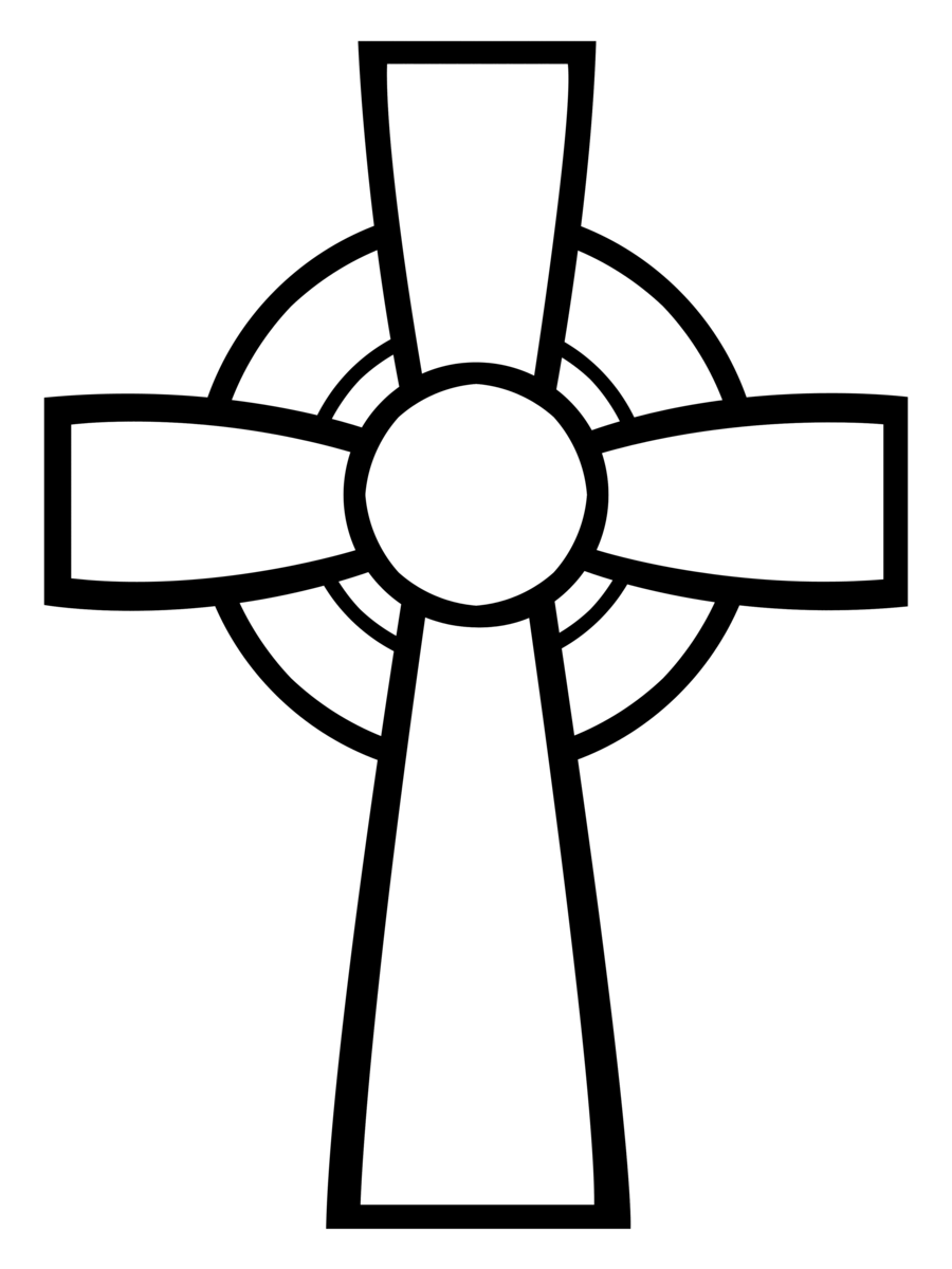 clip art freeuse Celtic cross clipart black and white. Custom shape for photoshop