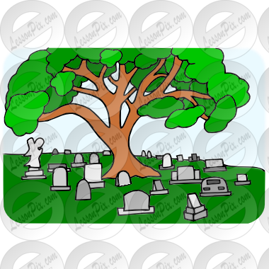 vector black and white download Picture for classroom therapy. Cemetery clipart.