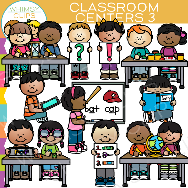 png royalty free stock Center clipart classroom. Learning clip art images
