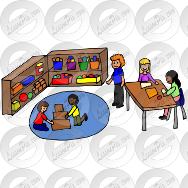 clipart freeuse stock Center clipart classroom. Centers picture for therapy