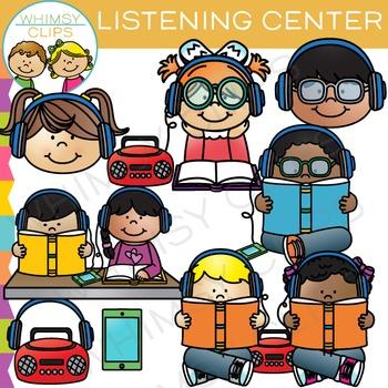 graphic transparent download Listening clip art . Center clipart classroom.