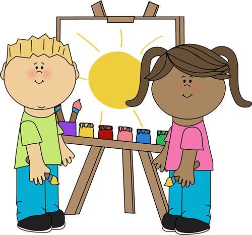 freeuse Free class cliparts download. Preschool art clipart.