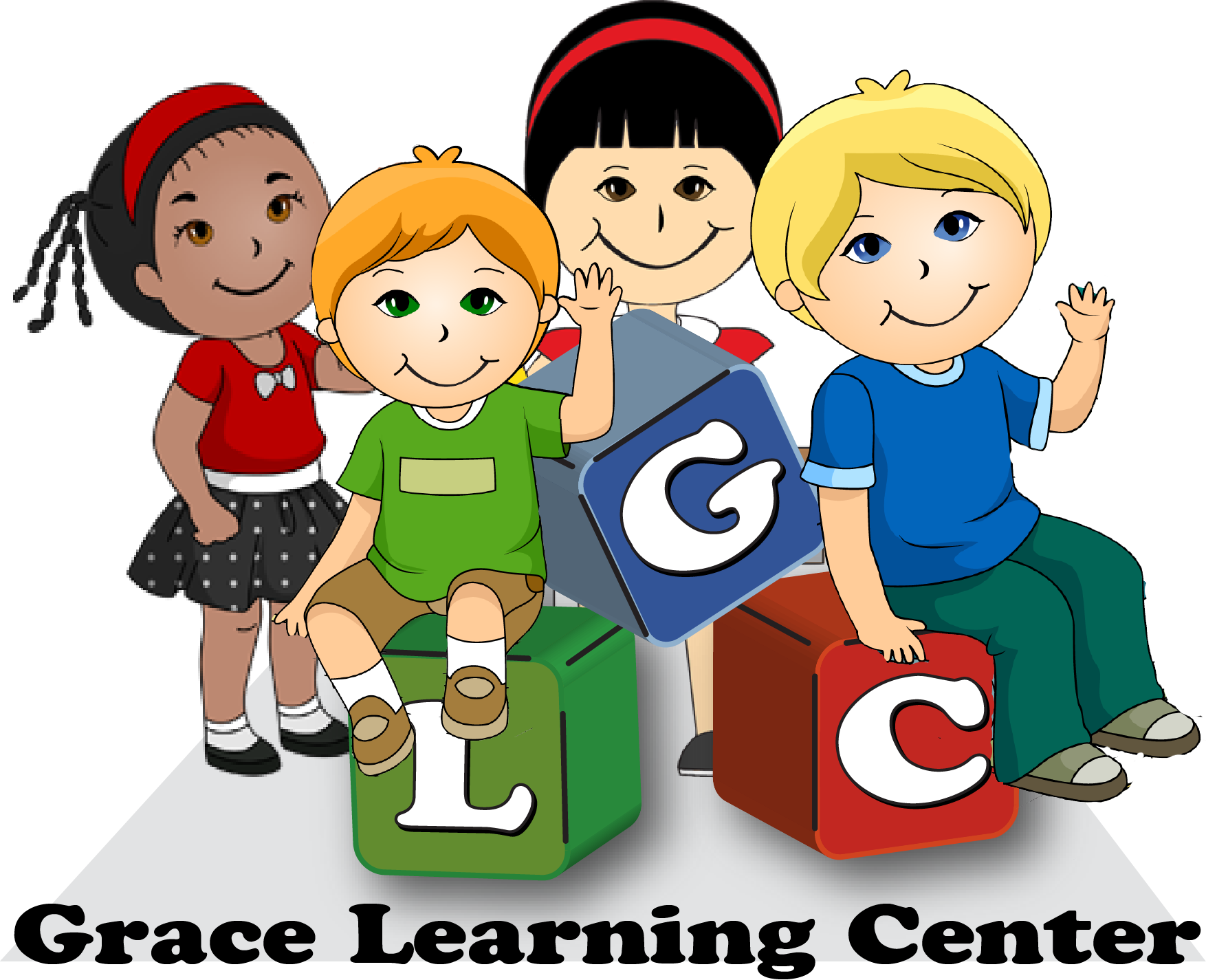 clip free library Kids blocks png . Centers clipart day care center.