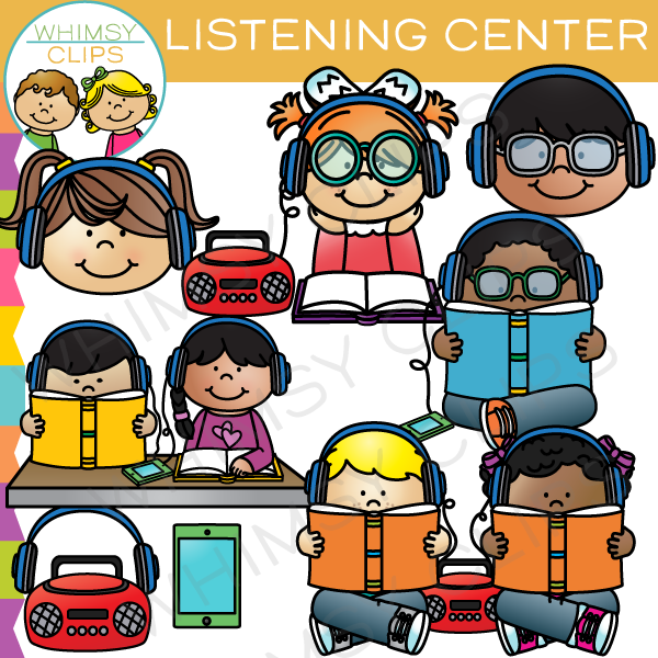 svg library library Clip art . Centers clipart listening center.