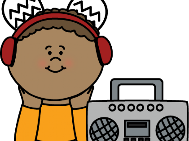 clipart transparent library Headphones free on dumielauxepices. Listening clipart boy.