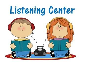 clipart royalty free Signs projects book clip. Centers clipart listening center.
