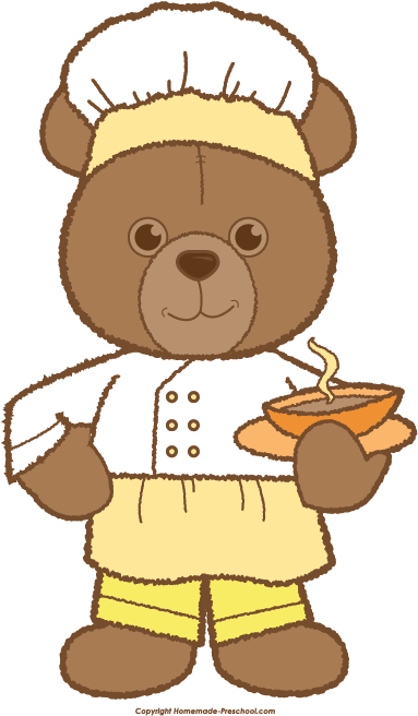graphic free Teddy Bear Chef