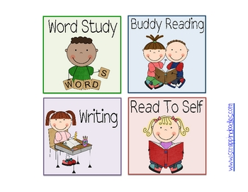 black and white download Centers clipart word study. Cliparts literacy x making.