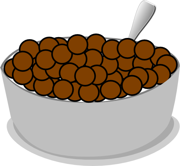 vector library library Cereal clipart. Bowl spoon clip art