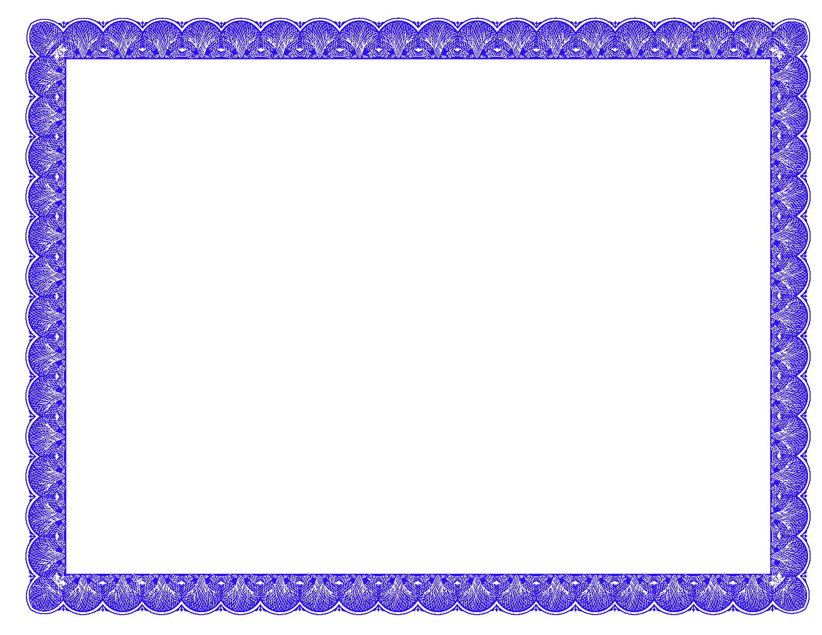 banner stock Vector certificate border. Blue physic minimalistics co