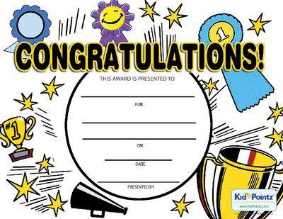 black and white stock Certificate clipart congratulation. Printable congratulations award activities.