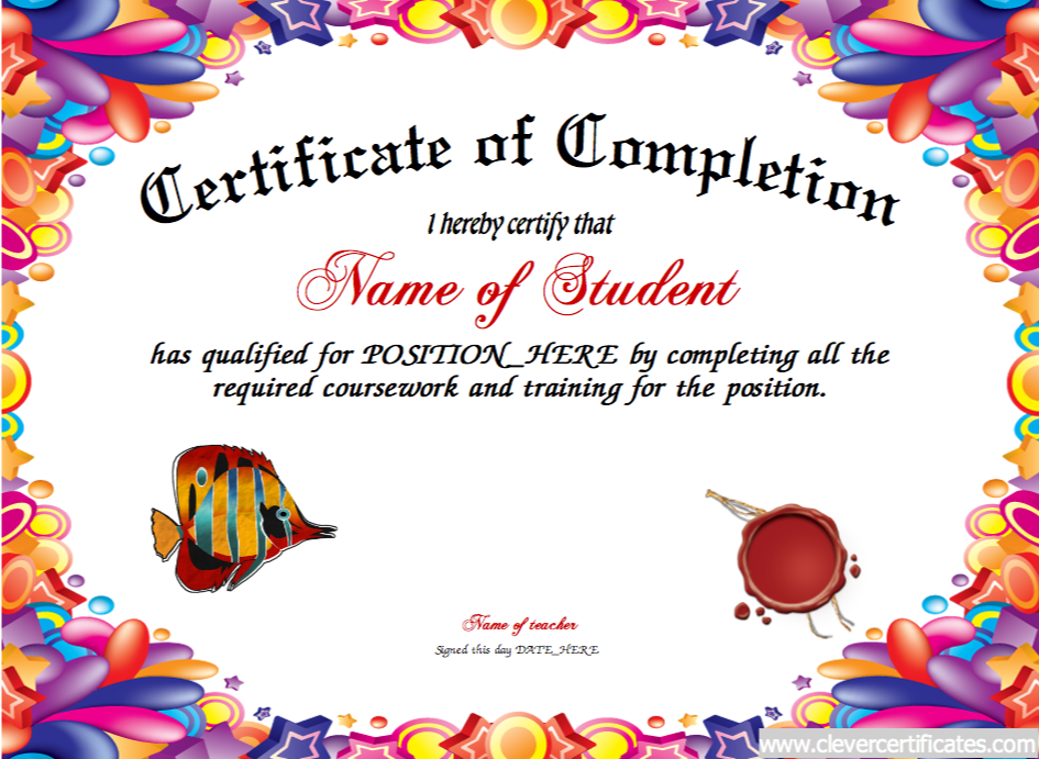 picture free library Completion awards to congratulate. Certificate clipart congratulation.