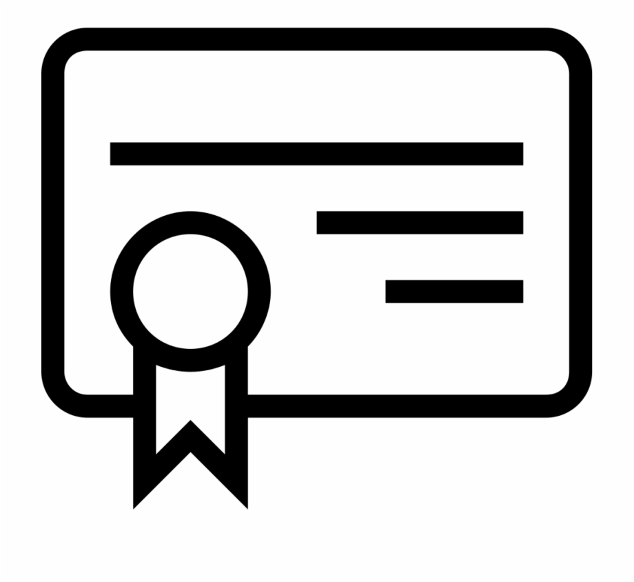 image transparent Clip art freeuse . Certificate clipart svg.