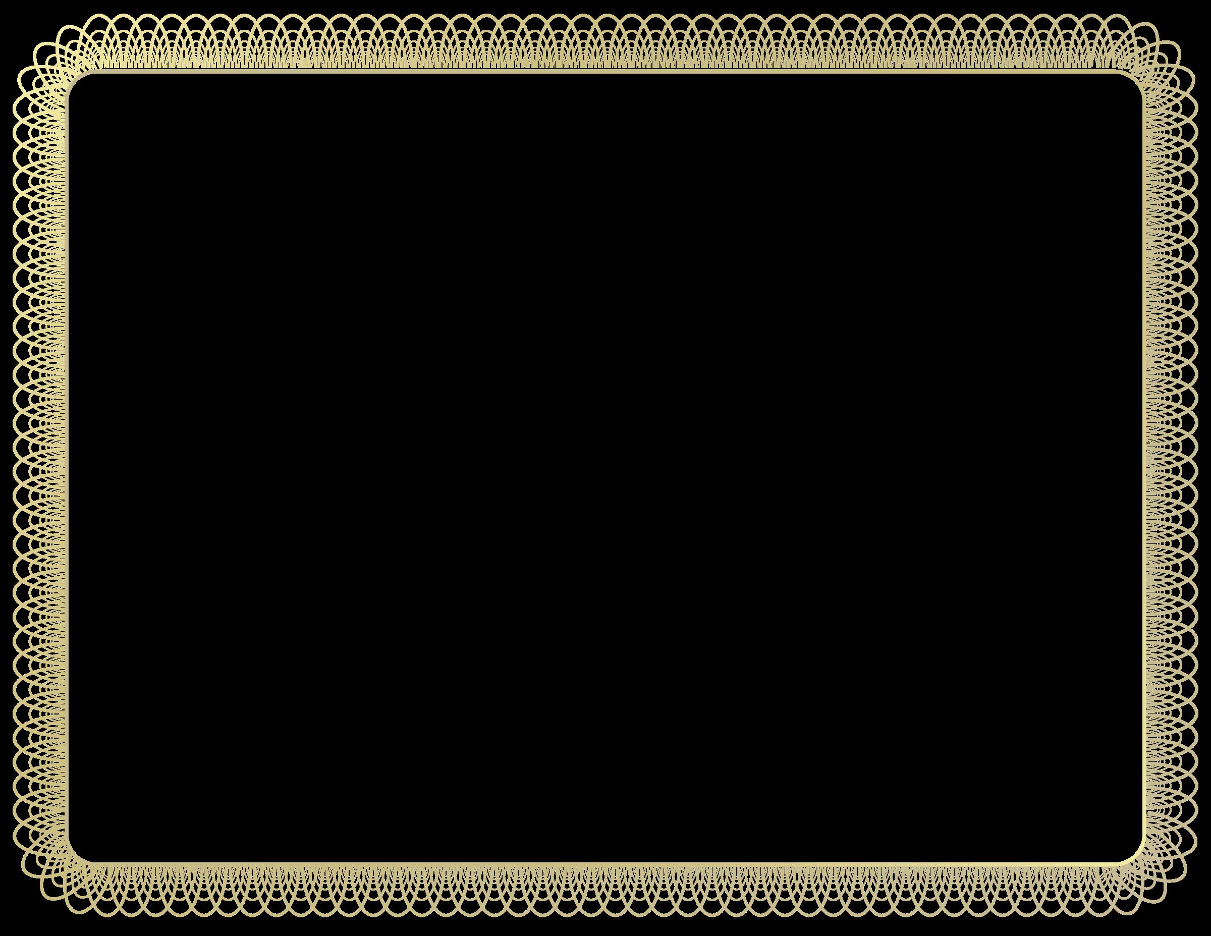 banner freeuse download Certificate clipart svg. Border big image png.