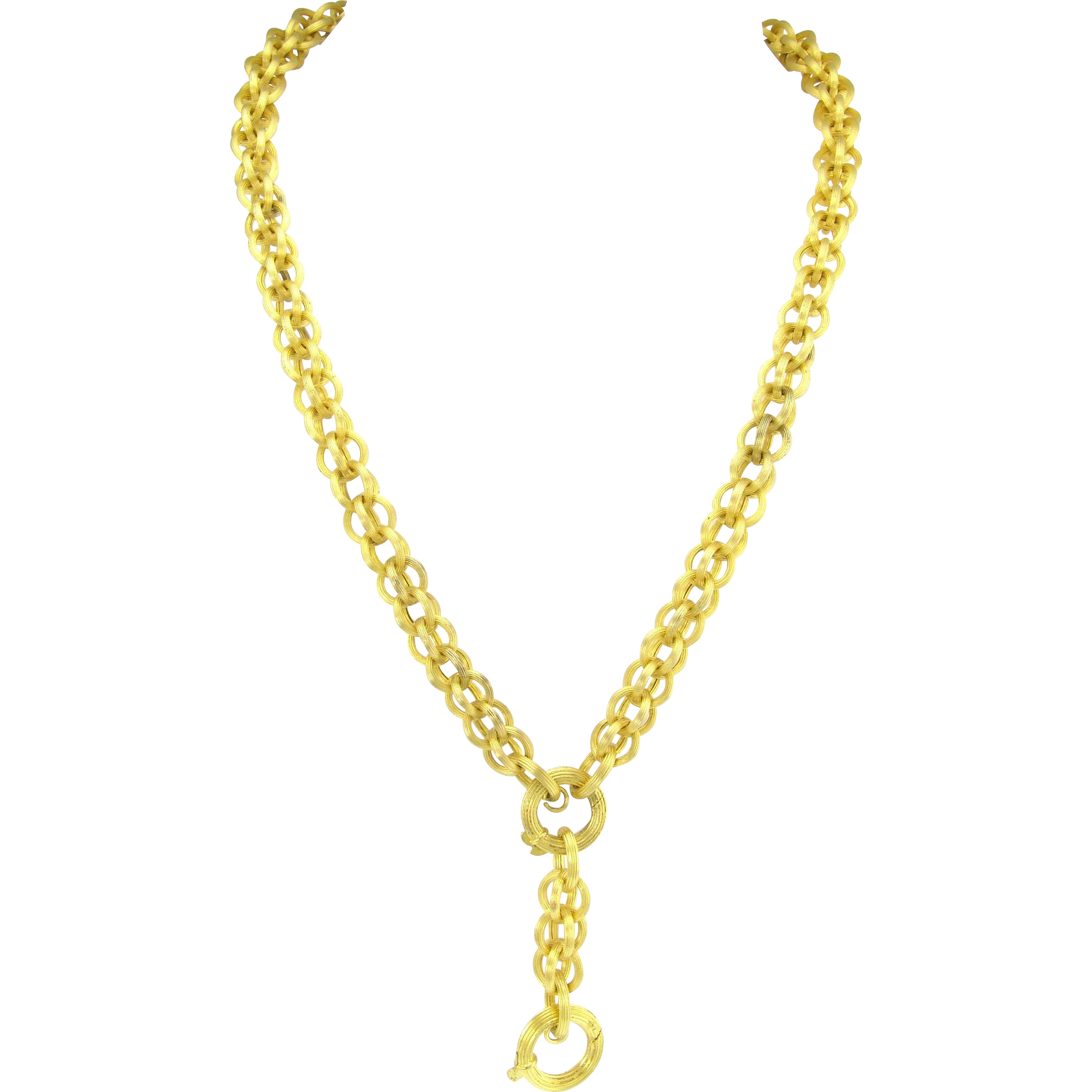 graphic library library Gold Chain Necklace Clipart