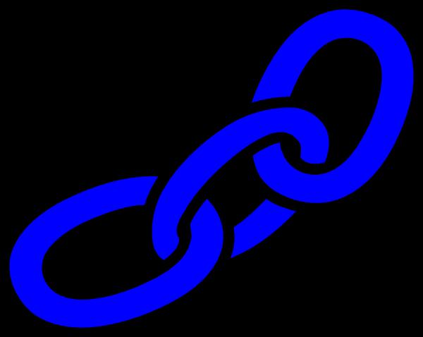clip library stock Clip art photo niceclipart. Chain clipart blue.