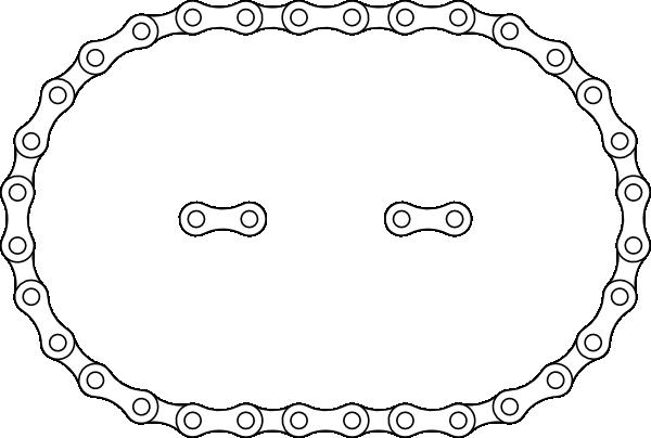 image free stock drawing chain bike #93778036
