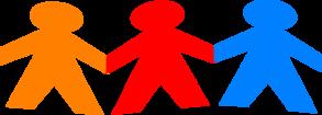 clip free download Chain clipart colored. Paper dolls clip art.