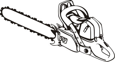 png black and white library Free cliparts download clip. Chainsaw clipart.