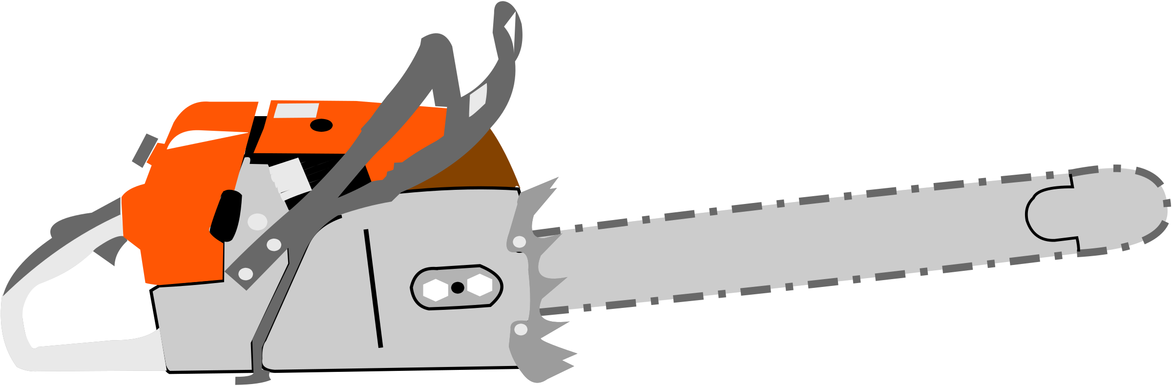 clip free download . Chainsaw clipart