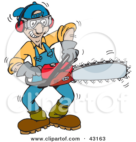 jpg royalty free library Chainsaw clipart animated. Panda free images .