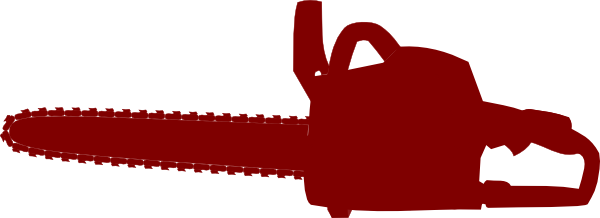 svg freeuse stock Chainsaw clipart