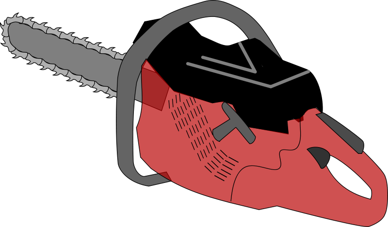 graphic black and white stock Chainsaw Clipart at GetDrawings