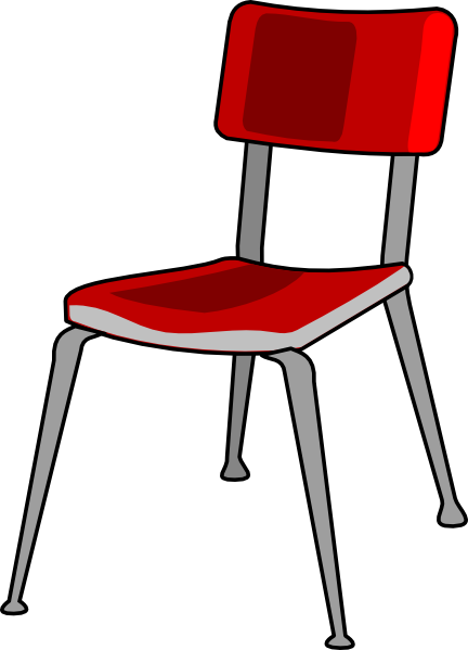 image transparent stock Student . Chair clipart.
