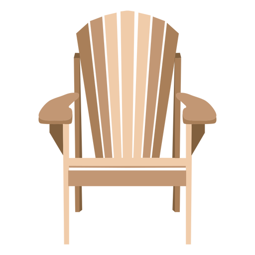 svg freeuse library Chair clipart adirondack chair. Elegant transparent png svg.