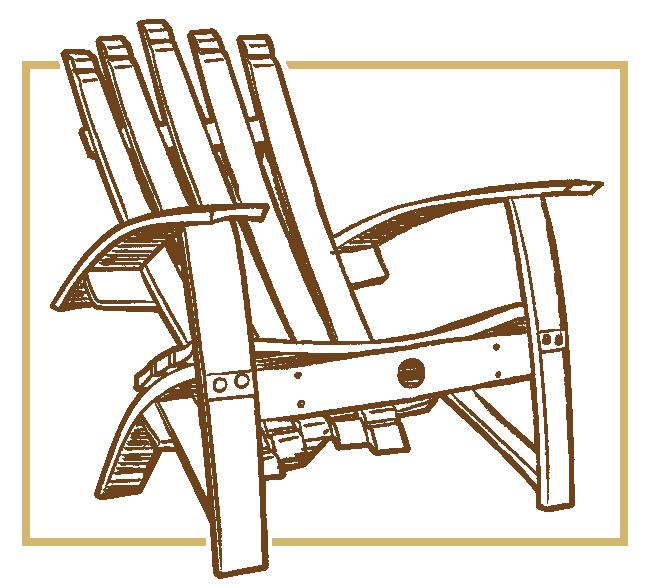 image library stock Chair clipart adirondack chair. Wine barrel adiorondack chairs.