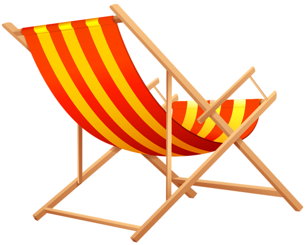 clip art royalty free download Transparent beach lounge png. Chair clipart adirondack chair.
