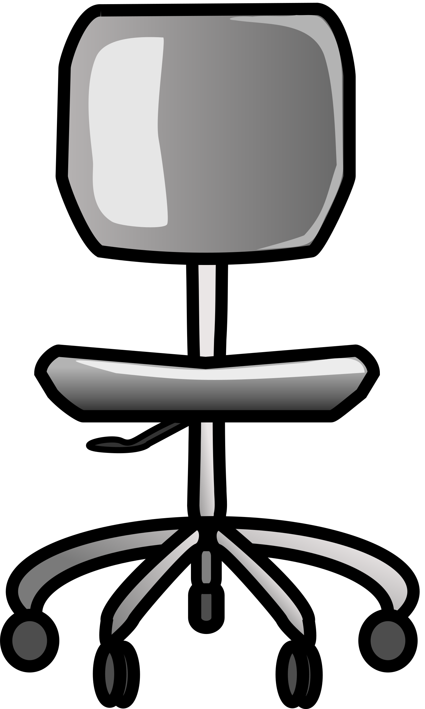 clipart transparent library . Chair clipart office chair.