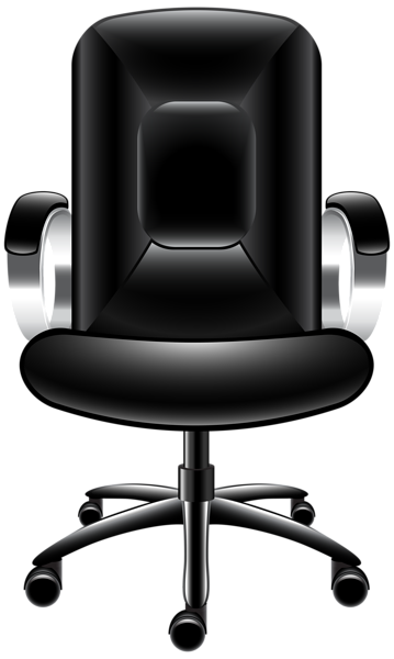 image library Chair clipart office chair. Transparent png clip art.